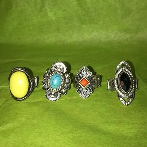 Four paparazzi rings
